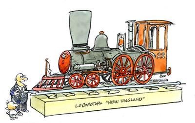 Imagen de una locomotora