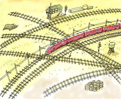 Imagen de un tren actual
