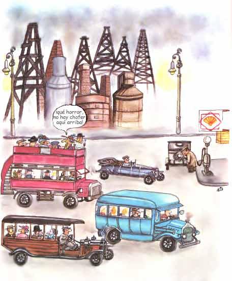 el petroleo gasolina: