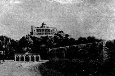El Observatorio Astrónomico Nacional estuvo originalmente instalado en el techo del castillo de Chapultepec.