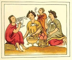 la alimentacion en la epoca prehispanica: