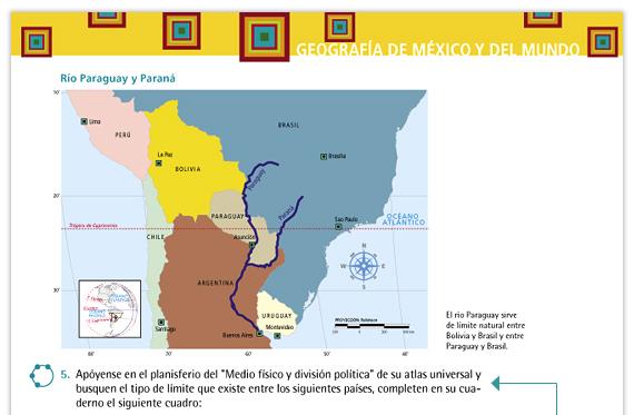 Geografa de Mxico y del mundo Libro para el maestro