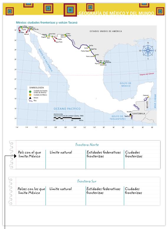 Geografía de México y del mundo. Libro para el maestro ...